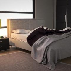 Chambre au matin