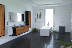 Salle de bain Végétale 01